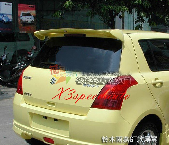 2010 2011 2012 2013 Mazda 3 2 Post Factory Style Spoiler Wing UNPAINTED
