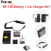 NP 130 Battery And Car Charger Kit For Casio Exilim EX H30 ZR100 ZR200 ZR300 ZR400
