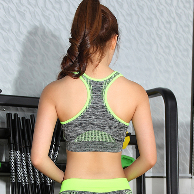 Woman's Padded Push Up Sports Bra