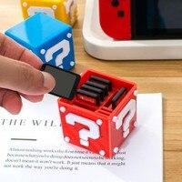 Profissional 12 em 1 NS Caixa de Caixa de Armazenamento De Cartão Do TF Cartão de Jogo Para Nintendo DN Interruptor 8 pcs NS Jogo cartões e 4 Cartões TF|Peças e acessórios de reposição| |  -