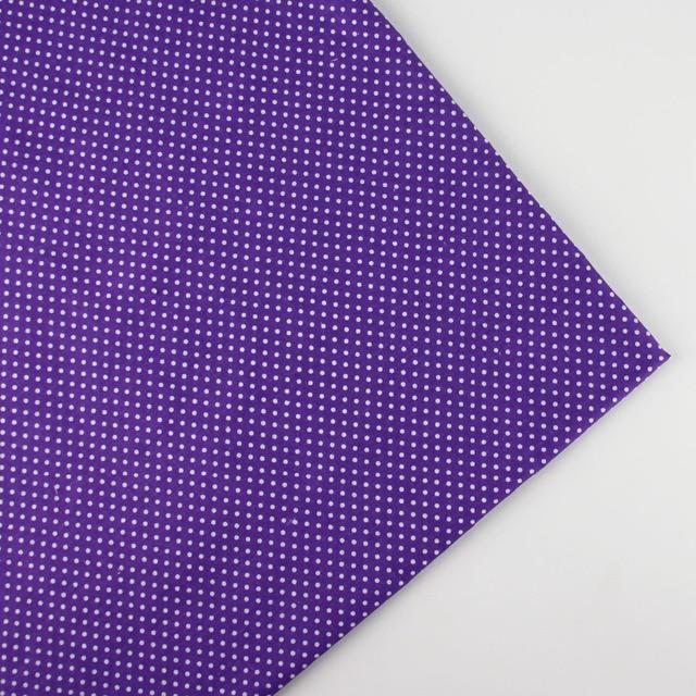 158cm X Half Meter Purple Antinode Cotton Fabric For Quilting