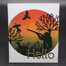 Glita Creatif hunter metal cutting dies for scrapbooking photo albulm decorative paper card making new craft embossing