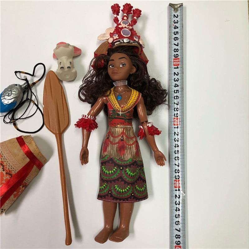 Boneca moana Vaiana Movie Waialiki Maui Heihei տիկնիկների - Խաղային արձանիկներ - Լուսանկար 4