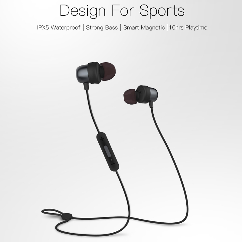 QCY QY20 Bluetooth V4.2 Wireless Earphone IPX5-Rated Sweatproof Sport Headset With Microphone 2