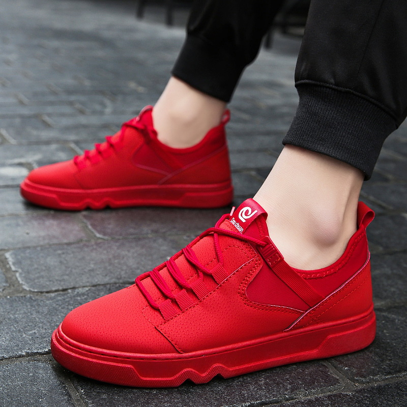 New Arravil Men's Skateboarding Shoes Casual Shoes Outdoors Leisure Sneakers Breathable Walking Shoes Flat Shoes Chaussure Homme