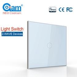 НЕО Coolcam умный дом Z-Wave Plus 1CH ЕС выключатель света совместим с Z-wave 300 серии и 500 серии домашней автоматизации