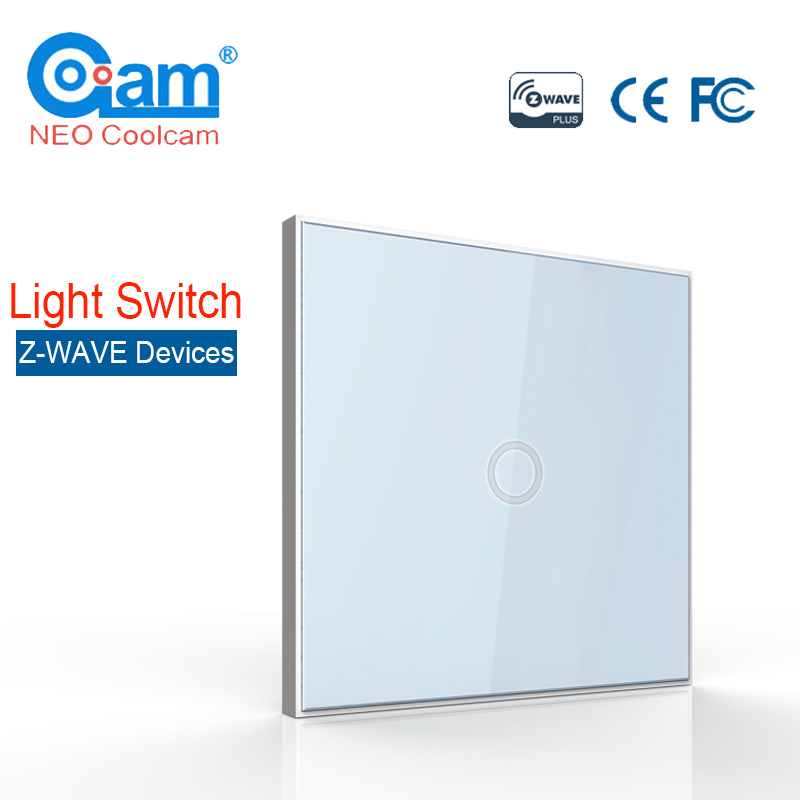 NEO Coolcam Smart Home Z-Wave Plus 1CH EU Light Switch Compatible with Z-wave 300 series and 500 series Home Automation neo coolcam smart home z wave plus 1ch eu light switch compatible with z wave 300 series and 500 series home automation