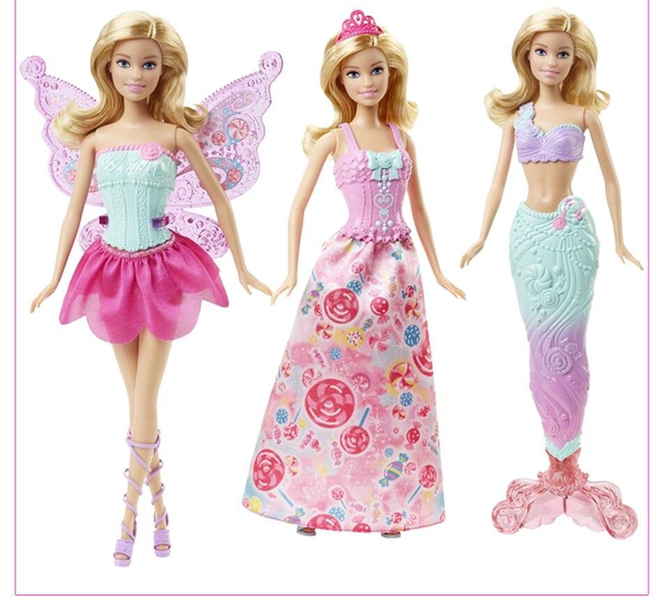 Original Barbie Fairytale Mermaid Dress Up Doll 7