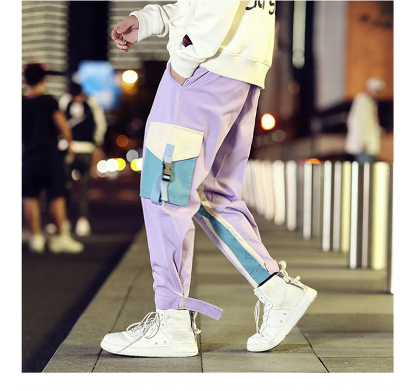 Cool Cargo Pants Men Casual Hip Hop Fashion (15)