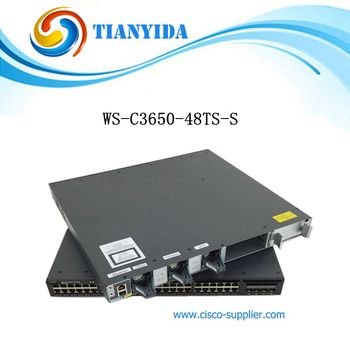New Sealed WS-C3650-48TS-S Catalyst C3650 48 Port  Gigabit Ethernet Core Switch