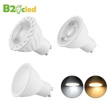 2 4 6 10pcs/Lot LED Light Bulb Spotlight GU10 6W 220V COB Chip Beam Angle 25 38 120degree Lamp For Table
