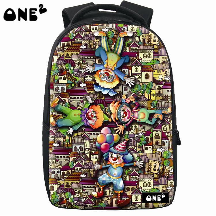 ONE2 cool preppy style printing polyester backpack laptop bags high school teenager university students boys girls kids children one2 design colorful 600d polyester school bag laptop backpack ice cream for university students women man teenager boys girls