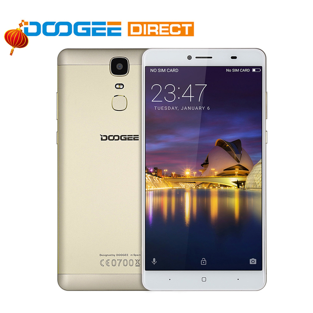 DOOGEE Y6 Max 3D 6.5 inch Octa Core Android 6.0 4G Phone MTK6750 3GB RAM 32GB ROM Fingerprint Scanner 13.0MP Rear Camer