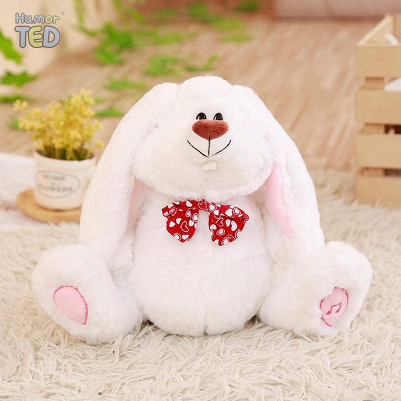 Plush-Toys Talking Ear-Bunny Rabbit Electronic Stuffed Animals Tiara for Children Girls