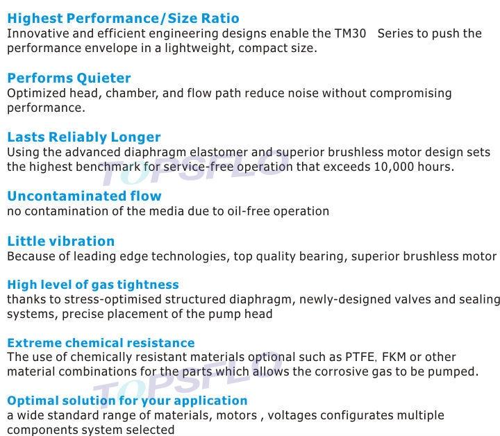Topsflo tm30a a12 v7006 dc diaphragm vacuum pump battery driven air aeproducttsubject ccuart Images