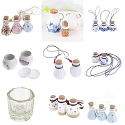 15 style Ceramic Glass Liquid Glass Powder Dappen Dish Crystal Glass Cup For Acrylic Nail Art Clear White Color Transparent Kit