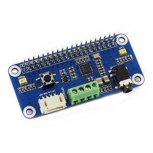 Image 3 - Звуковая шляпа Waveshare WM8960 Hi Fi, «карта» для Raspberry Pi Zero/Zero W/Zero WH/2B/3B/3B +, стереозвук, запись/запись