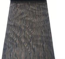 Купить с кэшбэком L:2.5Meters/pcs    Wide:60cm Thickness:0.2mm  Technology Ebony Root Bark  Wood Veneer (back side withnonwoven fabric)