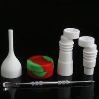 Ceramic Carb Caps Ceramic Nails For oil rigs Glass Hookahs Water Pipes VS titanium nail quartz nail