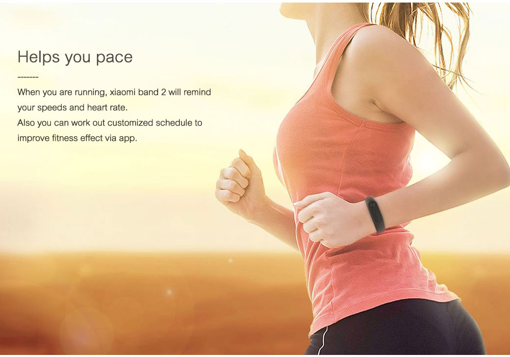 Xiaomi Mi Band 2 Smart Bracelet Wristband Miband 2 Fitness Tracker Android Bracelet Smartband Heart rate Monitor 1 (3)