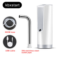 Automatic Water Dispenser Electric Water Bottle Pump Dispenser Drinking Water Bottles Faucet Pressure Device Mineral Water