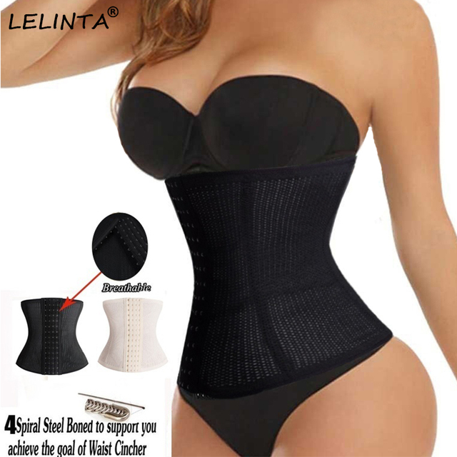 aed56be1f8d Hot Body Shaper Women Waist Trainer Slimming Belt Cincher Weight Loss  Workout Corset Girdle Tummy Control