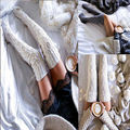 Women Cable Knit Stocking Women clothing Winter Stocking Extra Long Boot Stocking Over Knee Thigh