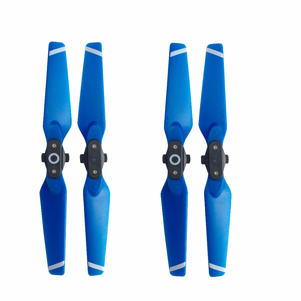 4pcs Propeller For DJI Spark Drone Quick-Release Props Folding 4730 Blades Accessories Spare Parts Wing Screw Blue Red White