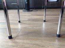4pcs Furniture Leg Cap 16-25mm Dia Plastic Feet Pads Covers Floor Protector for Furniture Chair patins pour pieds de chaises
