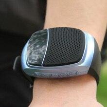 Mini Bluetooth Lautsprecher smartwatch Lautsprecher Smartband Einfache Tragbare Wristable Sport Smart uhr Für Funktion Laufenden