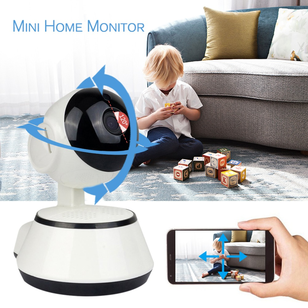 WiFi IP Camera Baby Monitor 720P HD Smart Baby Camera Audio Video Record Night Vision Remote Surveillance Home Security WiFi IP Camera Baby Monitor 720P HD Smart Baby Camera Audio Video Record Night Vision Remote Surveillance Home Security