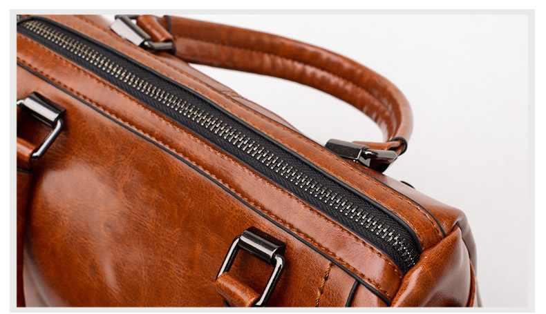 עור תיק תיקי מותגים מפורסמים נשים כתף גדול תא מטען Tote בציר גבירותיי Crossbody שקיות Bolsa Feminina ארנק 2019 C1038