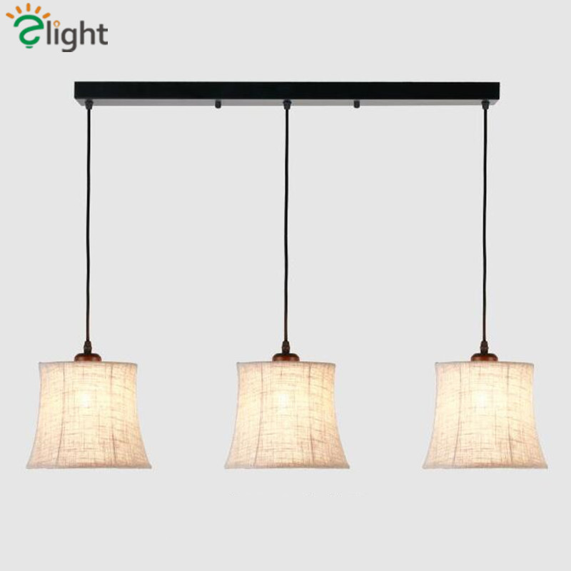 ФОТО Big Discount American Creative Flax Led Pendant Light Simple Pastoral Cord Hanging Light