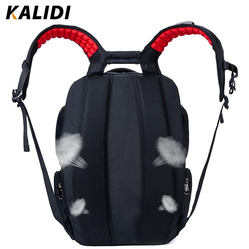 KALIDI Suya davamlı noutbuk çantası Sırt çantası, Macbook 17 - Noutbuklar üçün aksesuarlar - Fotoqrafiya 5