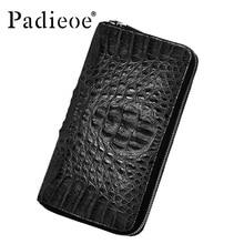 Luxury crocodile skin wallet business men wallet high quality designer handbags and purse fashion crocodile long wallet genuine