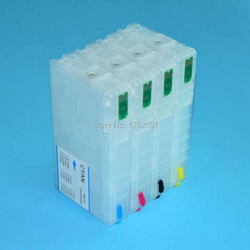 WF-5621 Refill ink cartridge For Epson T7921-T7924 Empty ink cartridge For Epson WF-5621 WF-5111 With 2 sets chips асадов э первое свидание