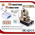 5 в 1 Машине = для Samsung Ближний Рамка Splite + Подогреватель + вакуумный ЖК Сепаратор + Клей Remover для iPhone Кадров Ламинатор