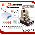 5 in 1 Machine = for Samsung Middle Bezel Splite + Preheater + Vacuum LCD Separator + Glue Remover + for iPhone Frame Laminator