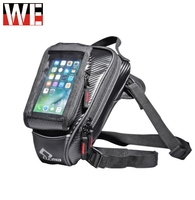 CUCYMA Magnet Motorcycle Tank Bags Multifunction Motorbike Drop Leg Bags Touch Screen Mobile Phone Bag for GPS navigation Travel