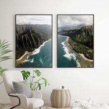 Декор noridc постеры и принты для дома воздушный пляж природный