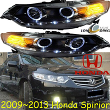 Spirio headlight,2009~2012(LHD,RHD need add 200USD),Free ship! Accor headlight,2ps/se+2pcs Aozoom Ballast,crosstour,Vezel,City