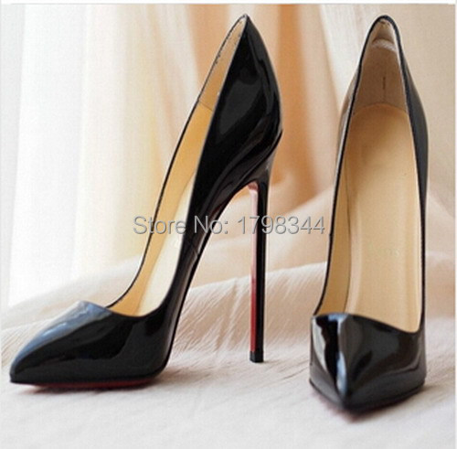 9a30ac4a0cb 2015 Free Shipping Free Delivery PIGALLE 120 mm Nude Patent Leather ...