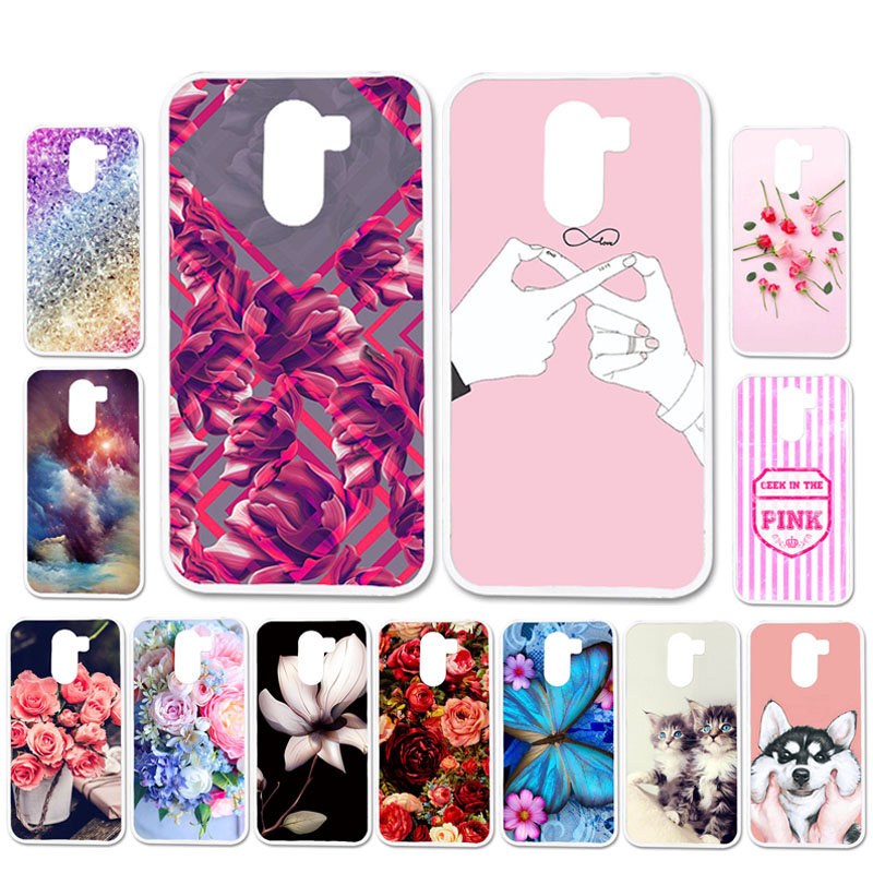 Ojeleye DIY Patterned Silicon Case For Wileyfox X50 Case Soft TPU Cartoon Phone Cover For Wileyfox Swift 2 2X Covers