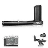 Meike MK XT3G Aluminum Alloy Hand Grip Quick Release Plate L Bracket for Fujifilm Fuji X T3 XT3 Camera