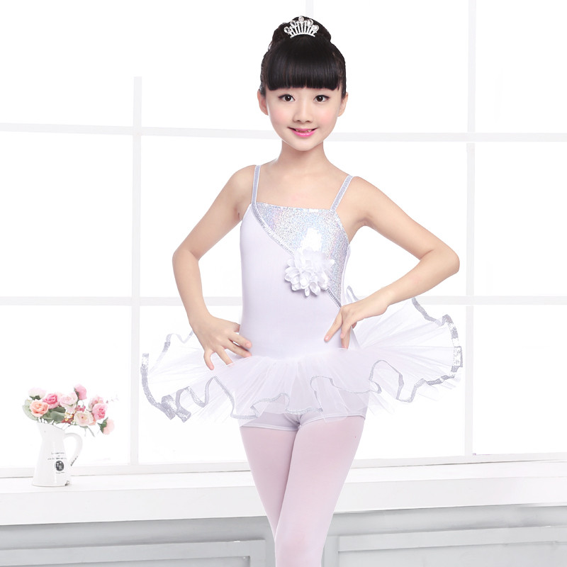 2018 Time-limited New Girls Acetate Gymnastics Leotard Ballet Tutu Ballet Dress For Children Costume Professional Tutu Stage & Dance Wear Ballet