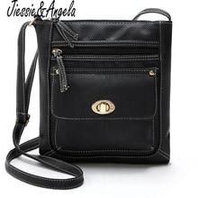 Hot sale vintage style small bags women messenger bag PU leather women handbags crossbody shoulder bag for women bolsa feminina