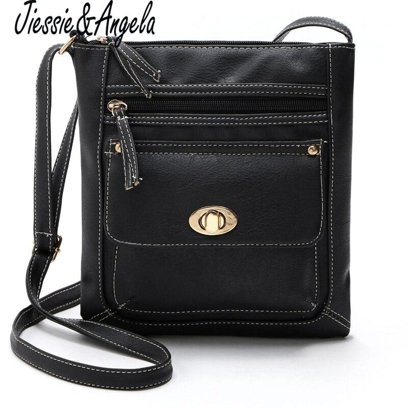 dae0d4a2f Jiessie & Angela venda Quente saco crossbody sacos para as mulheres estilo  do vintage pequenos sacos saco do mensageiro das mulheres mulheres de couro  PU ...