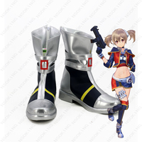 Anime Sword Art Online Fatal Bullet Ayano Keiko Cosplay boots Anime Shoes