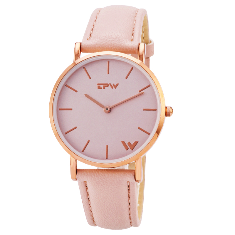 daily women thin quartz wristwatch simple design for lady watches japan movement good quality accurate time fashion watch