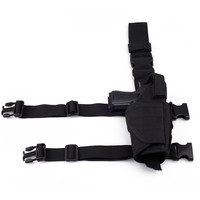 Free Shipping Tactical Army Drop Leg Thigh Holster Rig Pistol Hand Gun Thigh Elite Police Swat